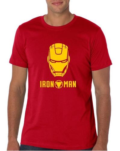 camiseta estampada iron man red