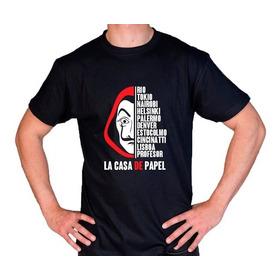 Camiseta Estampada La Casa De Papel M2