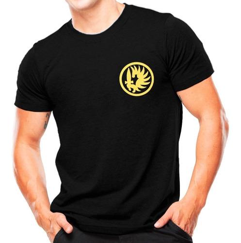 camiseta estampada legião estrangeira | preta - atack