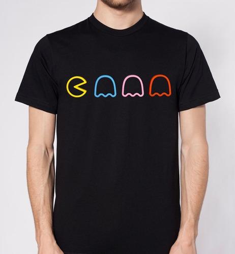 camiseta estampada pacman