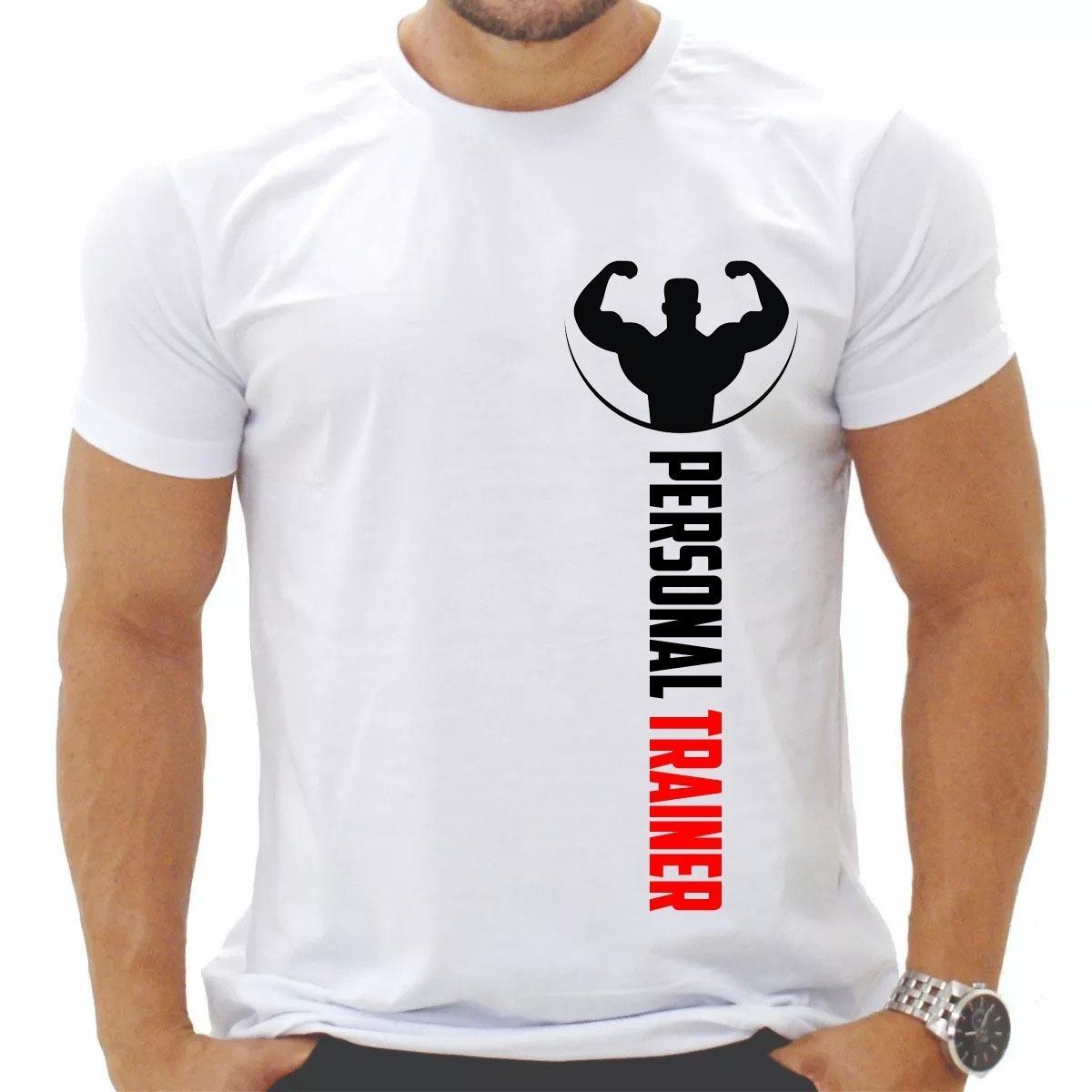 2d35b9a58 camiseta estampada personal trainer - preço imperdível. Carregando zoom.