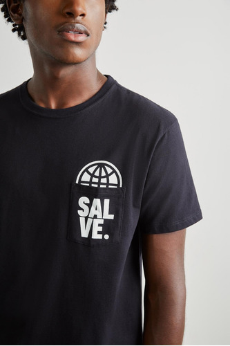 camiseta estampada salve reserva