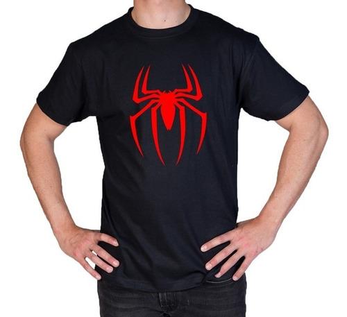 camiseta estampada spiderman hombre araña