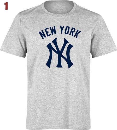 camiseta estampada yankees new york