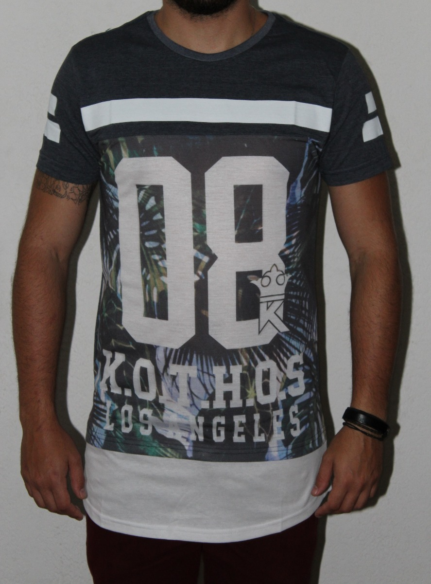 camiseta estilo americano preta high school swag longa. Carregando zoom. 829cf90a6e523