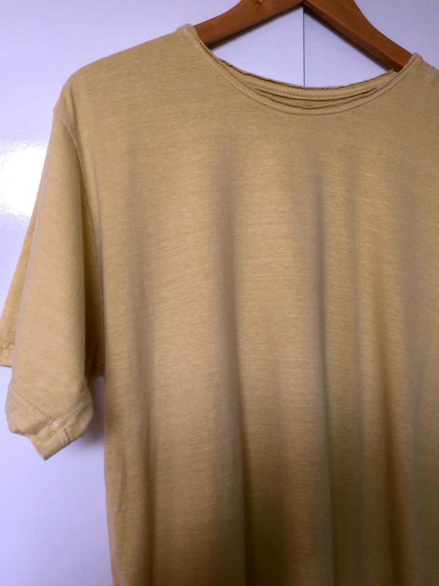 34e4cb6a0e camiseta estonada lisa amarela malha especial. Carregando zoom.