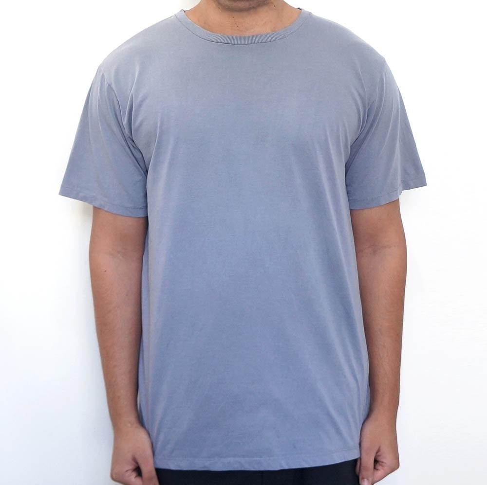 camiseta estonada lisa cinza (super promoção). Carregando zoom. dba4c3507e5