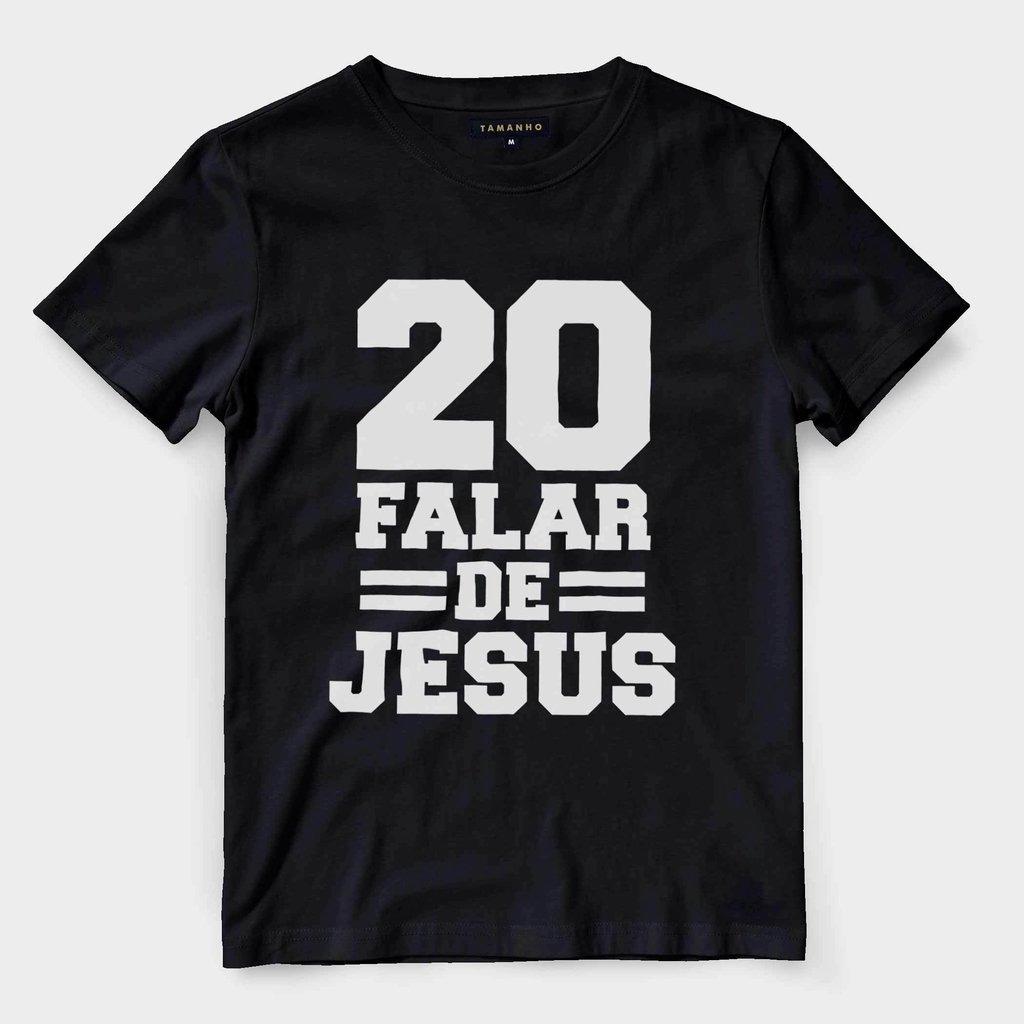 0442df670 camiseta evangelica masculina camisa gospel jesus numero 20. Carregando zoom .