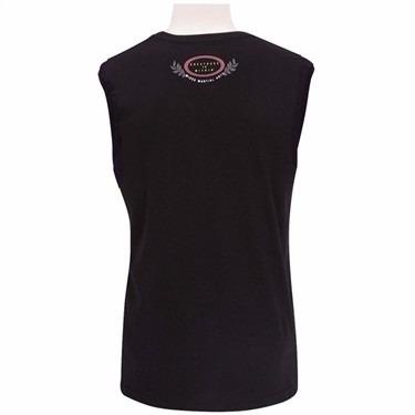 camiseta everlast mma fighters - 24911073 - preta - p
