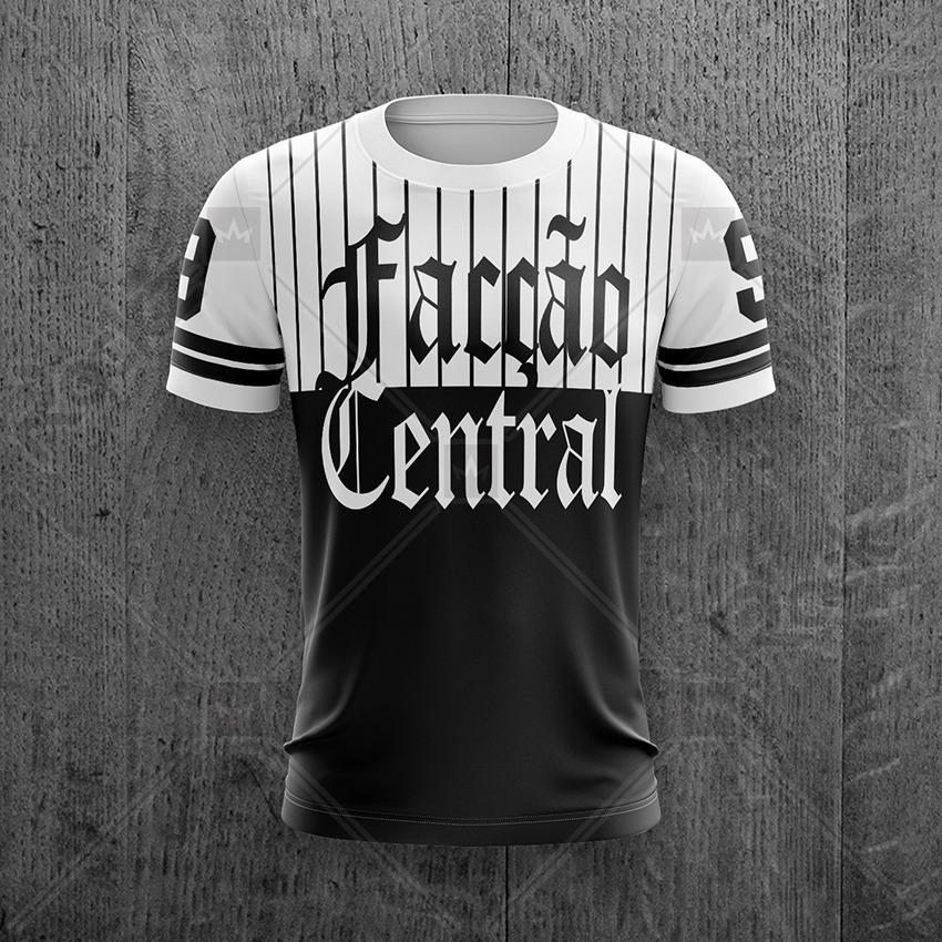 camiseta facção central hip hop rap nacional gangster. Carregando zoom. 87db37f4139