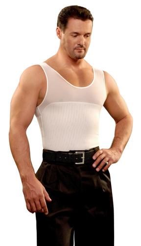 camiseta faja de hombre unica de power net promocion  2 x 1