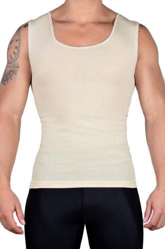 camiseta faja hombre hot power +camiseta reductora