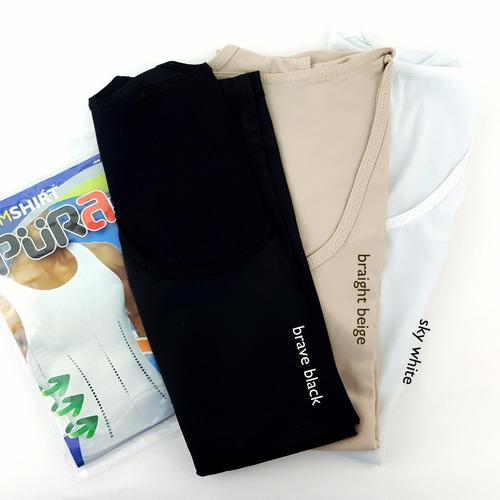 camiseta faja reductora adelgazante slimfit hot shaper