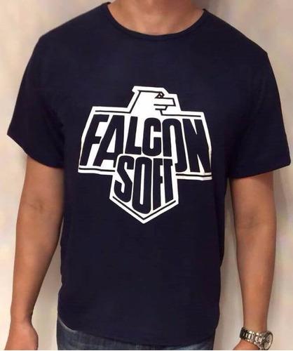 camiseta falcon soft nintendinho vgdb