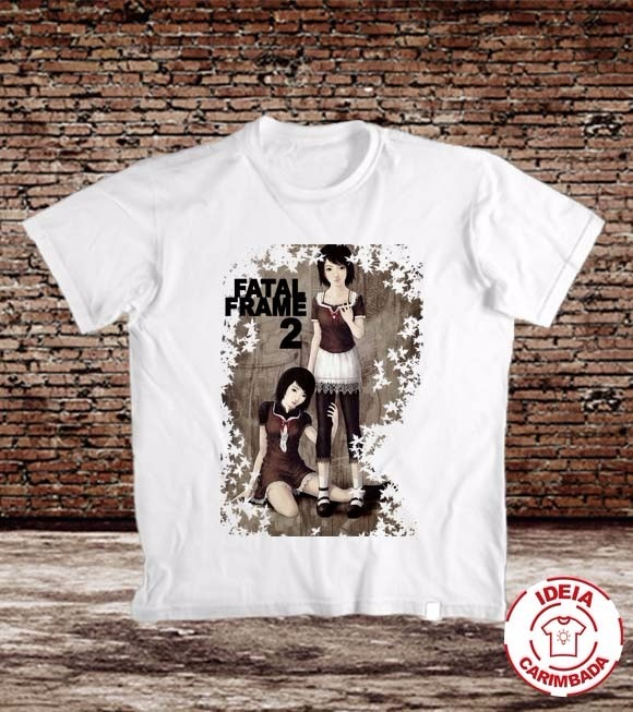 Camiseta Fatal Frame 2: Crimson Butterfly - Games - Ps2 - R$ 49,99 ...