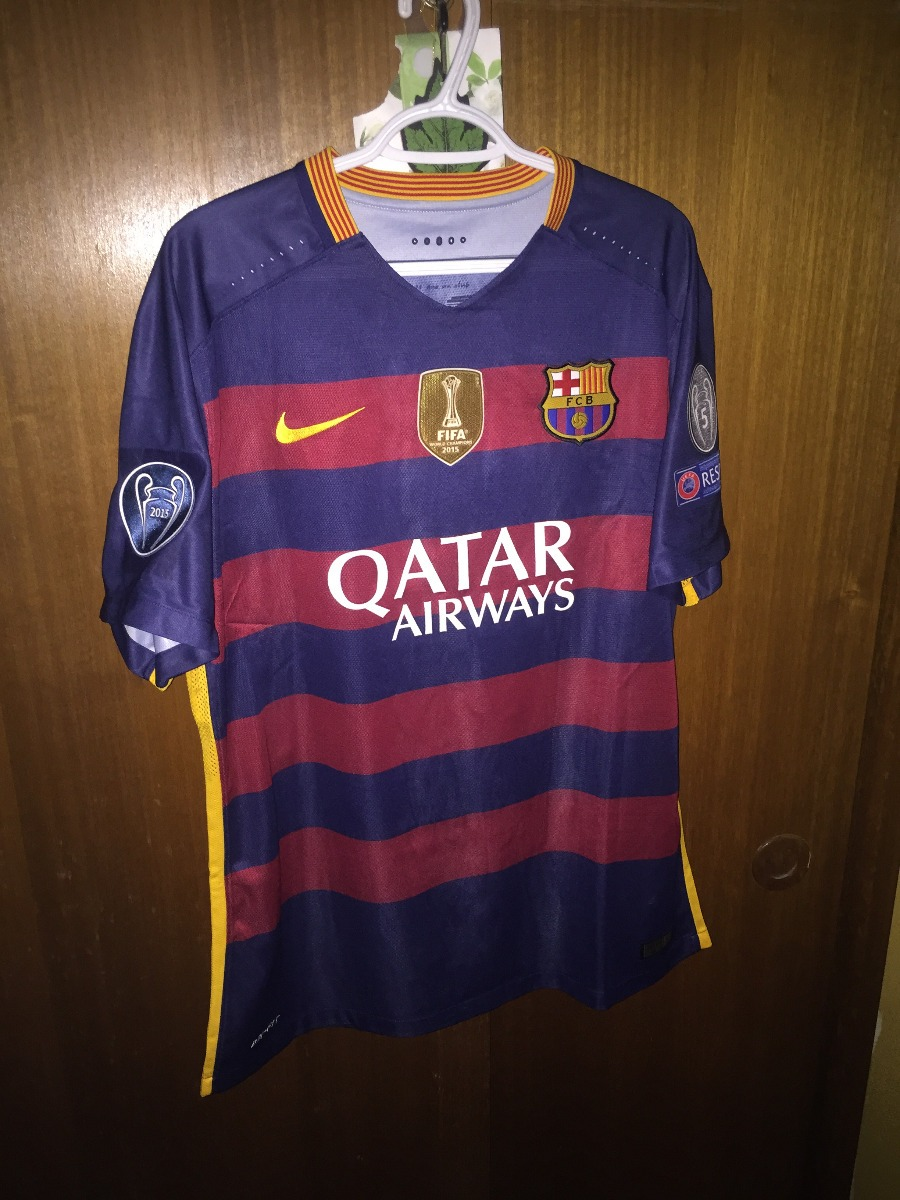 Camiseta Fc Barcelona 2015-2016 Titular -   75.000 en Mercado Libre 84e44227cce