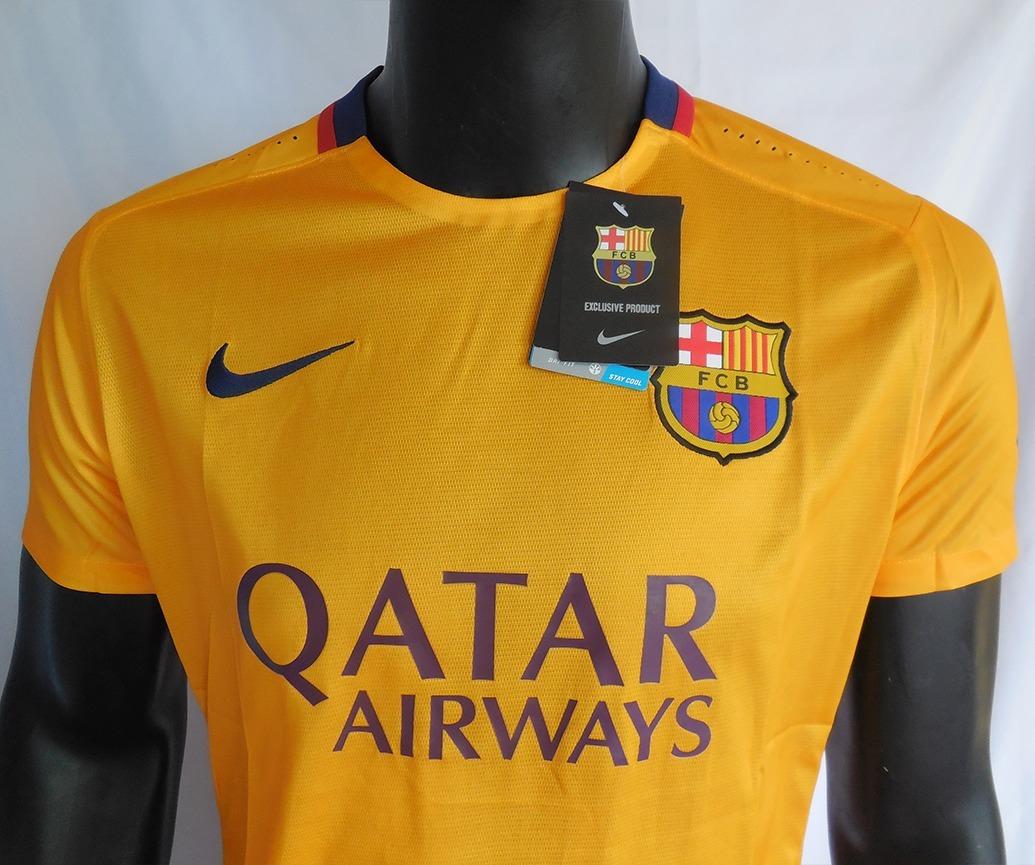 501e0b933b13d camiseta fc barcelona away 2015 2016 nike. Cargando zoom.