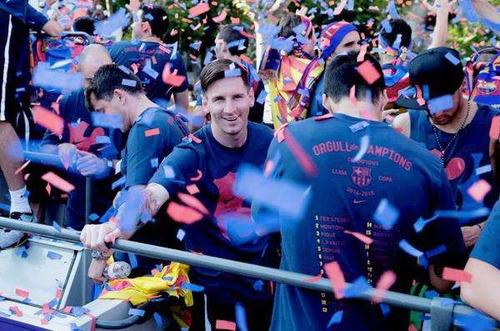 camiseta fc barcelona lionel messi campeon 2015 copa america