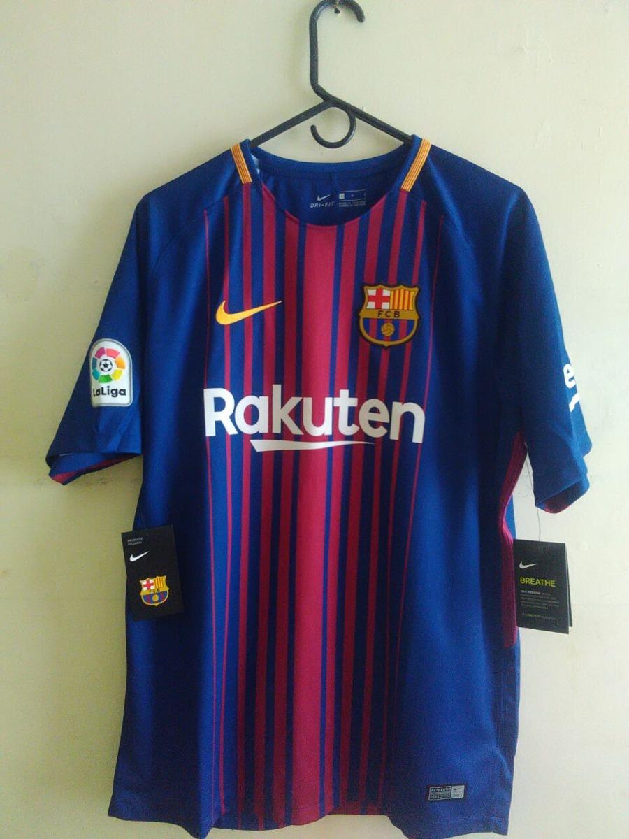camiseta f.c. barcelona nike original temporada 2017-2018. Cargando zoom. f4092d491bc8f