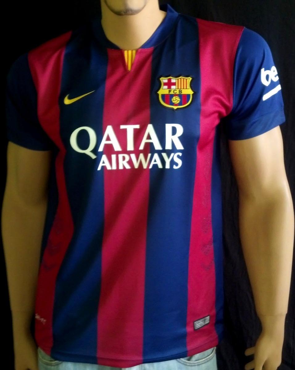 camiseta fc barcelona temporada 2014 - 2015 para fanaticos. Cargando zoom. e9e6e26fd97b3
