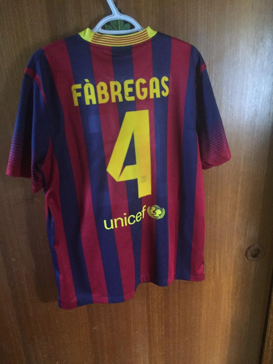Camiseta Fc Barcelona Titular 2013-2014 -   40.000 en Mercado Libre 232524ef21a