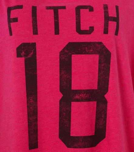 57c5401643 Camiseta Feminina Abercrombie   Fitch College Pnk - R  207
