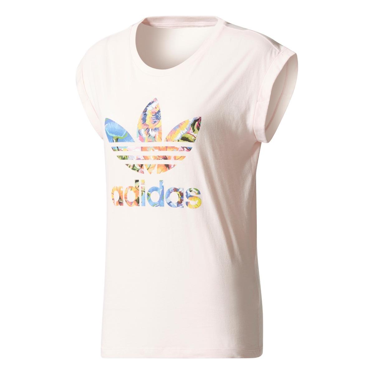 efb00b3e2a8 camiseta feminina adidas farm floralita - original. Carregando zoom.