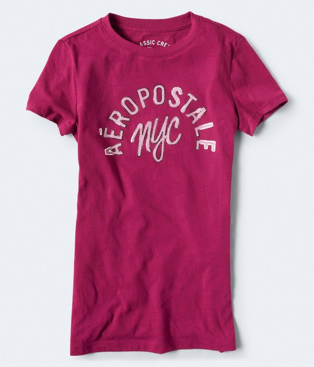 56aee28c37e2b camiseta feminina aeropostale aero original importada rosa 2. Carregando  zoom.