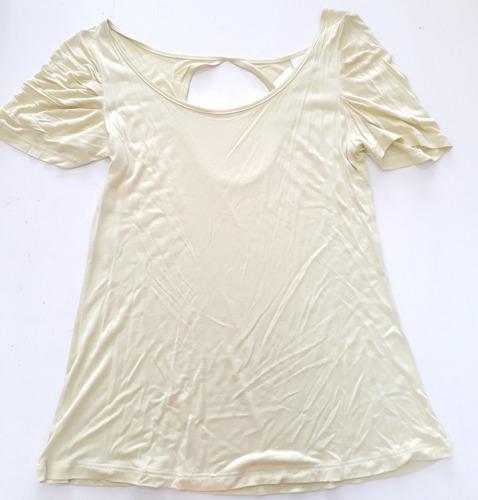 camiseta feminina amarela blu'mund