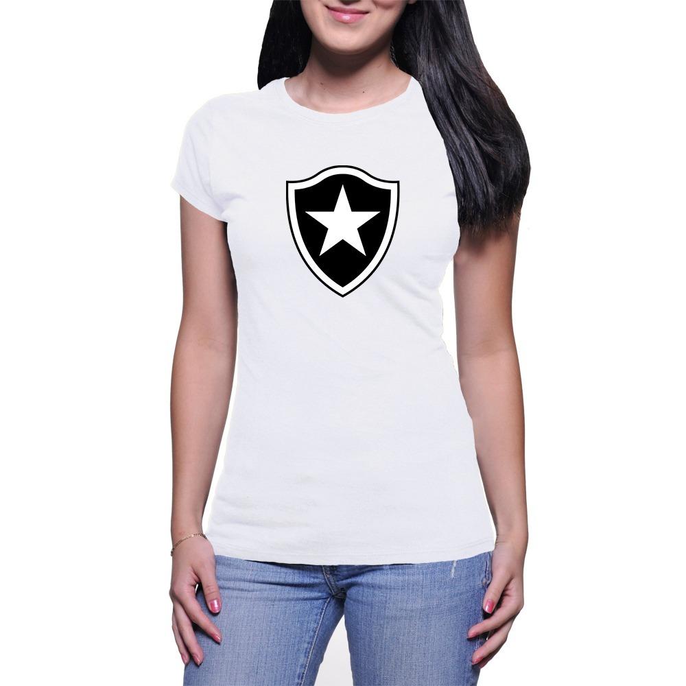 8b0ef9f25e Camiseta Feminina Baby Look Botafogo Muito Barata + Brinde - R  18 ...