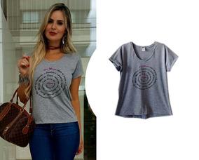 58392d10d7 De Ave Cesar A Ave - Camisetas e Blusas para Feminino no Mercado Livre  Brasil