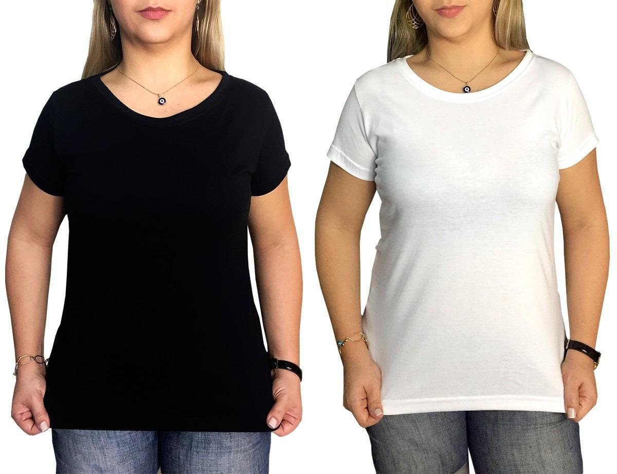 0e7cb26e15c33 camiseta feminina baby look lisa 100% algodão 30.1 penteado. Carregando  zoom.