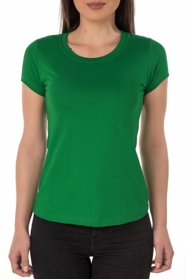 7e51effaa0 camiseta feminina baby look lisa verde p  sublimação. Carregando zoom.