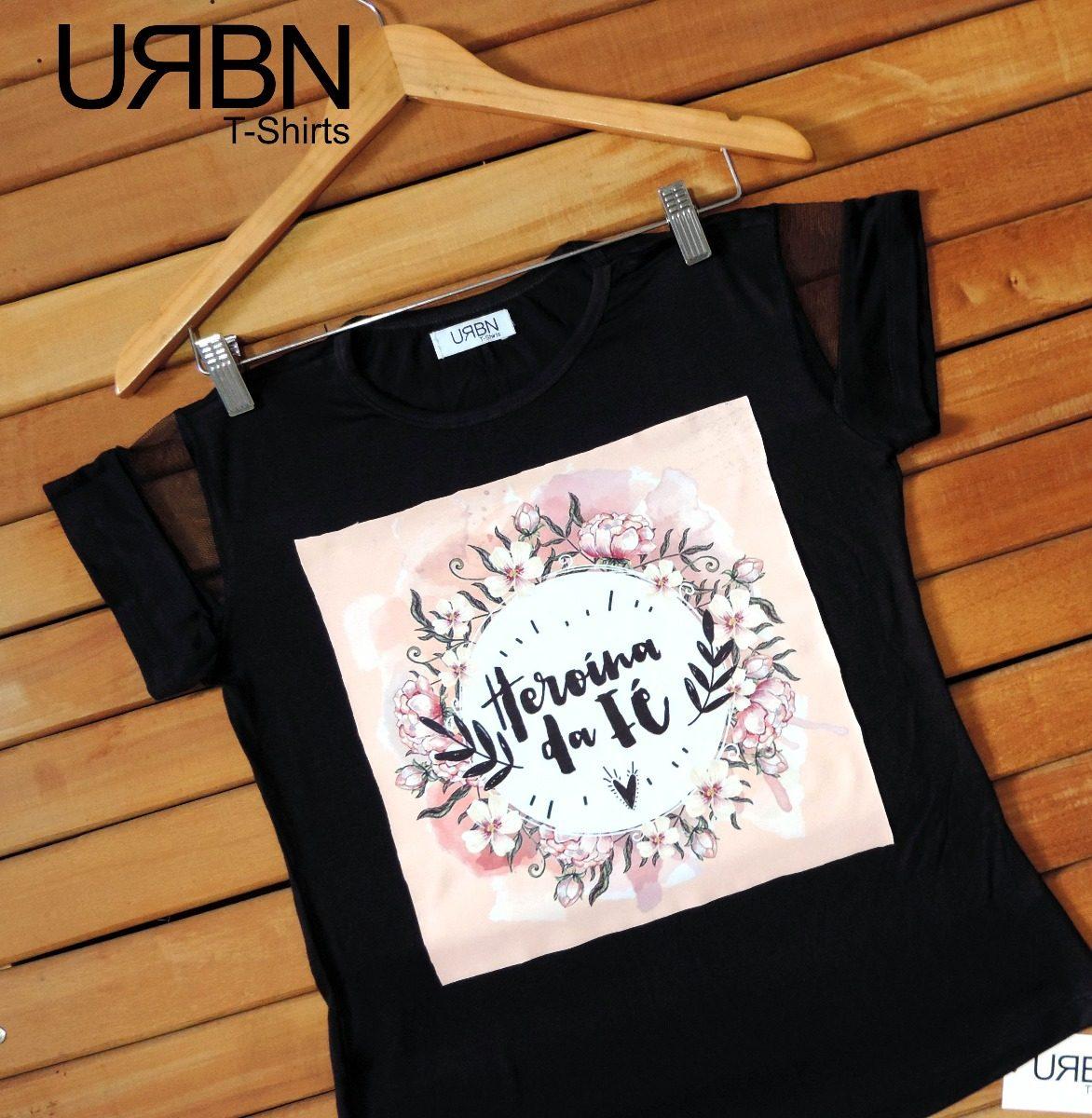 4acfc5b2b camiseta feminina blusa evangélica-gospel. Carregando zoom.