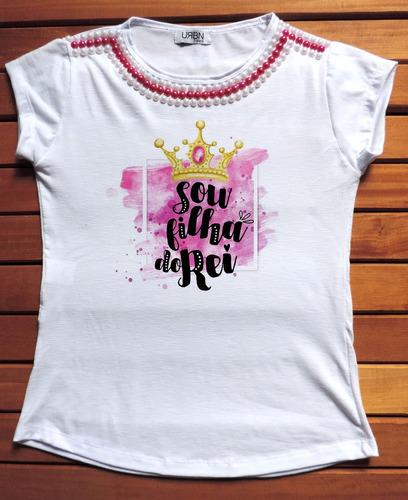 camiseta feminina blusa feminina evangélicas - frases gospel