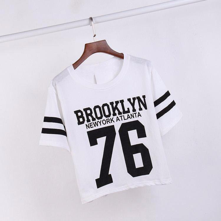 6d187b10bb Camiseta Feminina Brooklyn 76