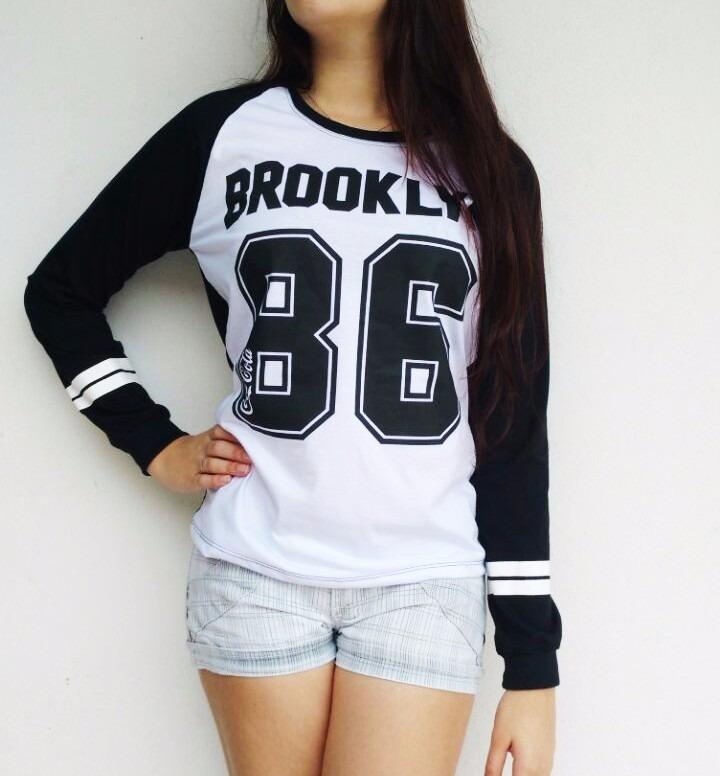 fe17c231d Camiseta Feminina Brooklyn 86