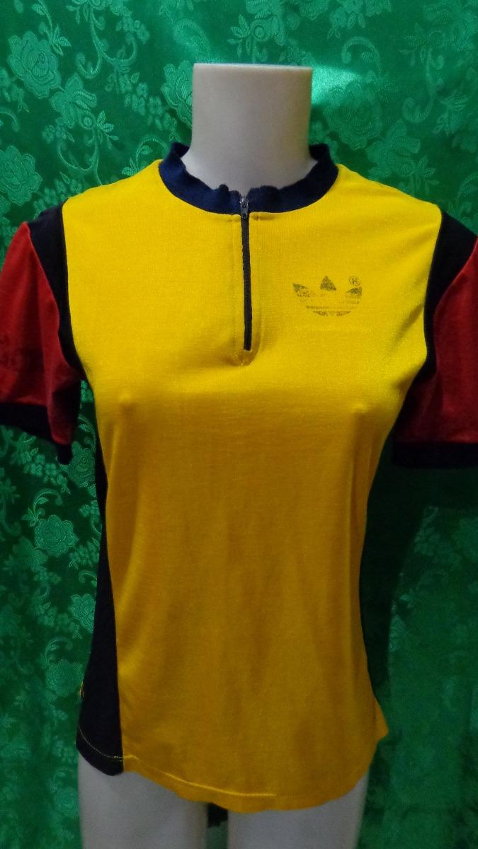 62883d00cc698 Camiseta Feminina De Ciclismo adidas Anos 80 Tm/ P - R$ 45,00 em ...