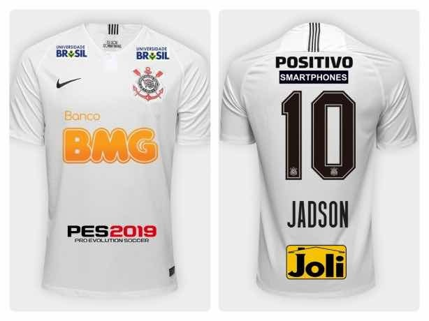 Camiseta Feminina Do Corinthians 2019 Personalizada - R  74 20f680eca877f