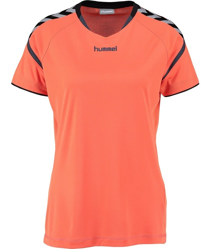 Hummel AUTH Charge SS Poly Jersey Donde Camiseta