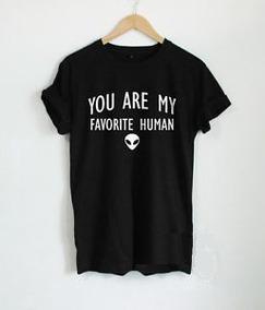 0545367c4f Camiseta Alien Tumblr Feminina - Camisetas no Mercado Livre Brasil