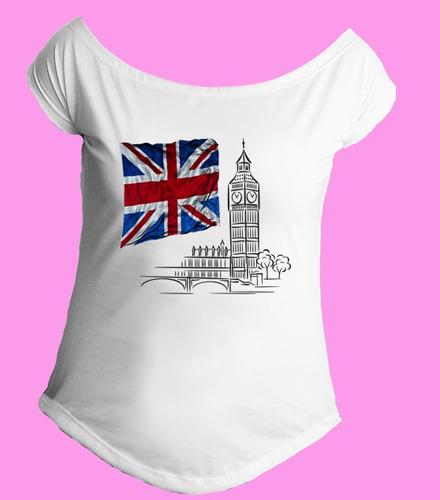 camiseta feminina g. canoa inglaterra reino unido londres 03