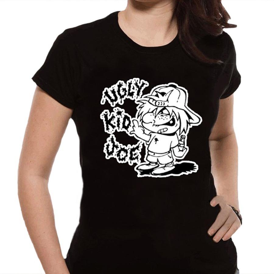 ea2c47213 Camiseta Feminina Kid Rock - 100% Algodão - R$ 59,88 em Mercado Livre