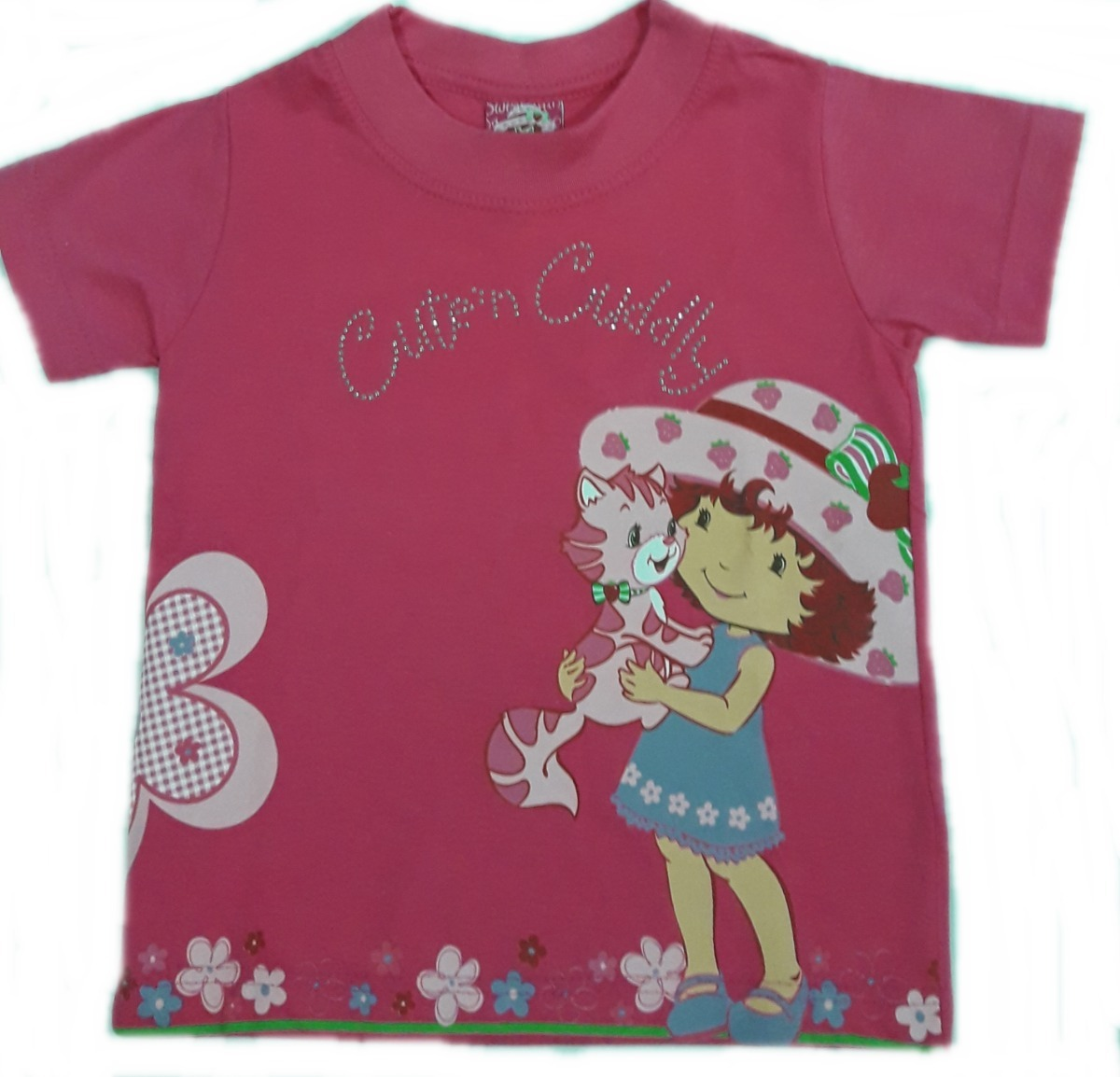 83a90aaa3a Camiseta Feminina Moranguinho Corte Grande Malwee Nº 1 - R  32
