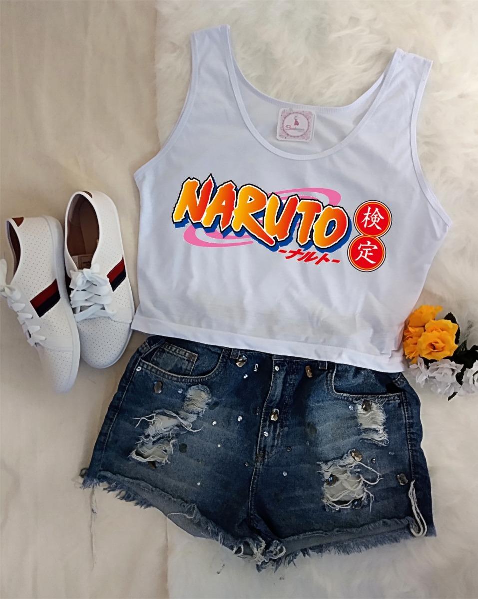aac529ed237 camiseta feminina naruto blusa anime uzumaki t shirt barato. Carregando  zoom.