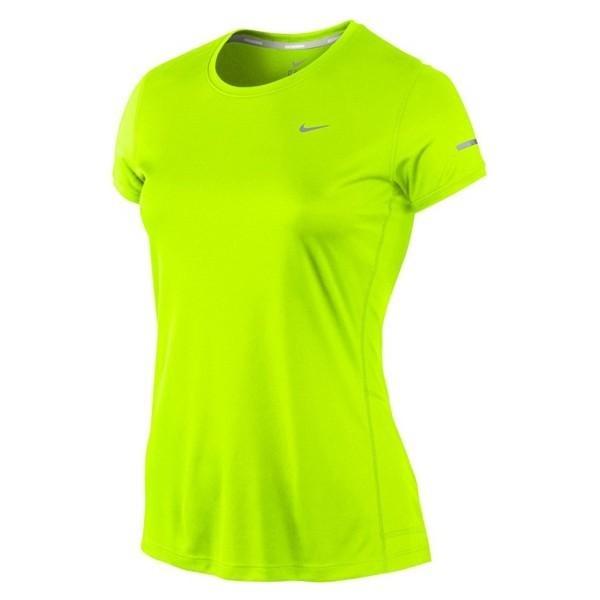 3898926f12 Camiseta Feminina Nike Miler - Cor Preto - R$ 79,90 em Mercado Livre
