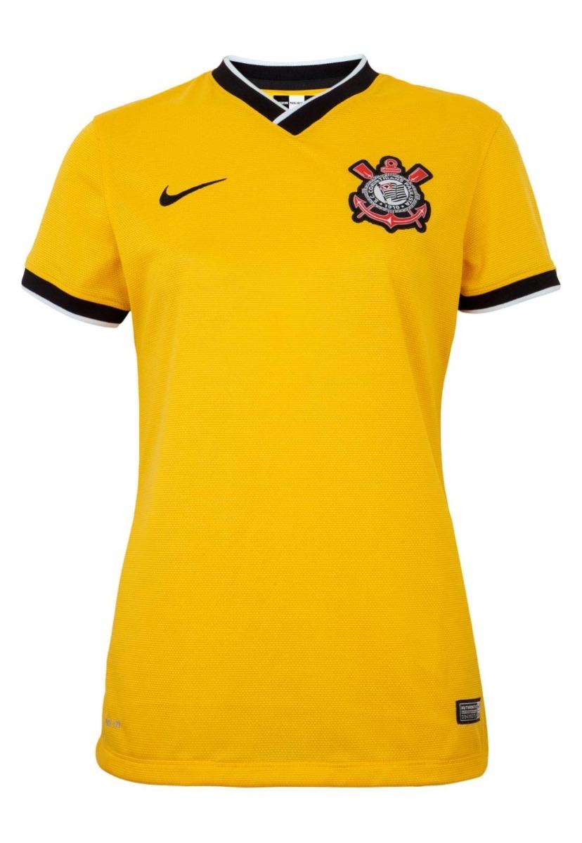camiseta feminina nike oficial corinthians original. Carregando zoom. 3e7e8de0bdd52
