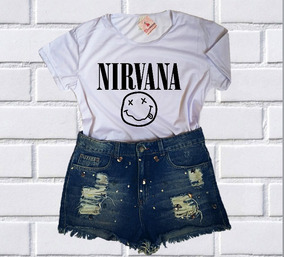 6953a396c4 Blusa Nirvana - Calçados