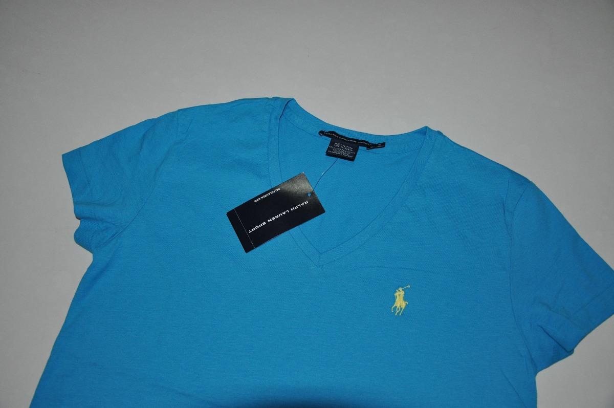 camiseta feminina polo ralph lauren - cores - 100% original. Carregando zoom . 333d18e70d6