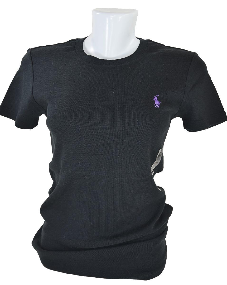 camiseta feminina polo ralph lauren manga curta 100% origina. Carregando  zoom. 404c30aa95d
